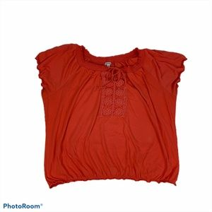 Women's Bongo Plus peasant top size 3x